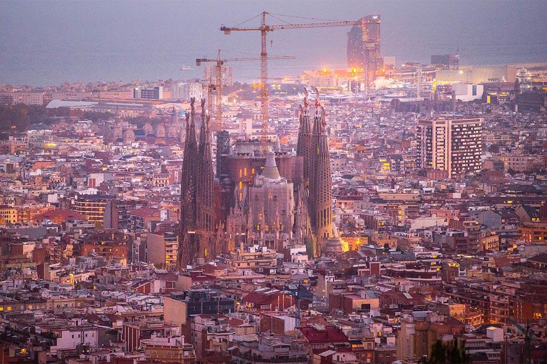 建築家安東尼·高第(Antoni Gaudí)的代表作聖家堂自1882年起開始施工,預計2026年可完成主體部份,2032年可完成全部裝飾。攝:David Ramos/Getty