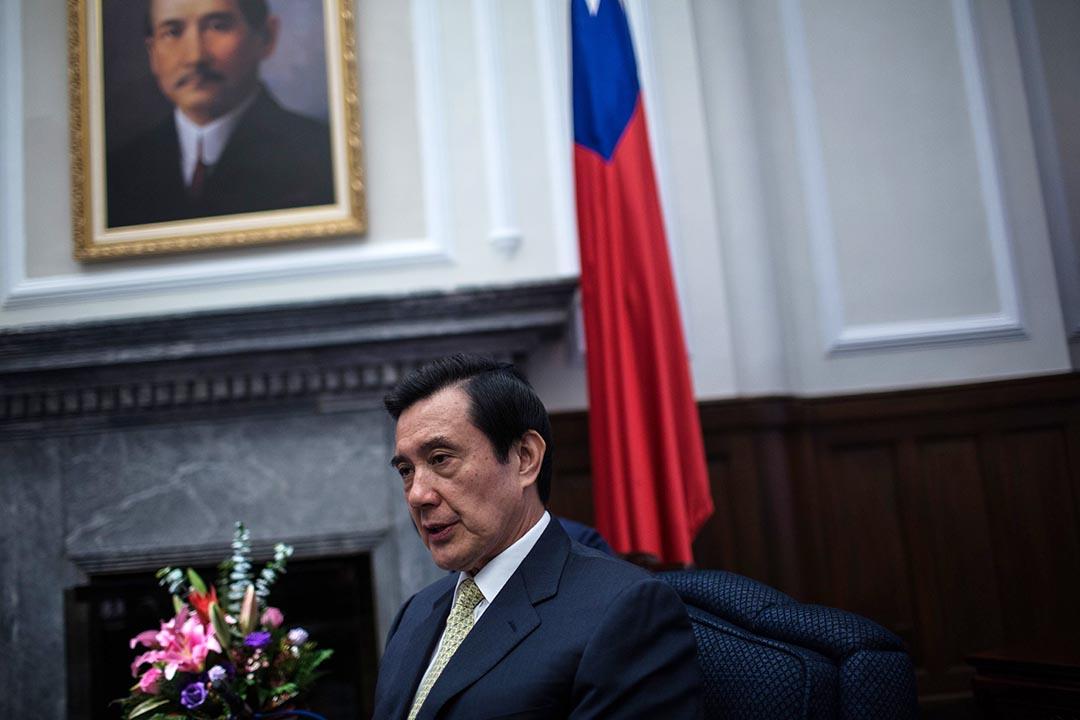 台灣總統馬英九8月3日在《中國時報》撰文強調釣魚台屬於「中華民國」。圖為台灣總統馬英九總統。攝: 林亦非/端傳媒
