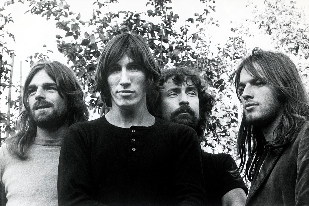 1973年的黃金時期 Pink Floyd:Richard Wright,Roger Waters,Nick Mason和David Gilmour。