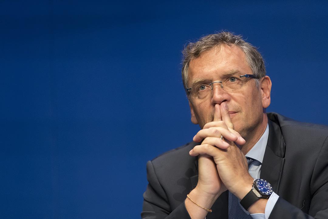 FIFA秘書長瓦爾克涉嫌炒賣世界盃門票被被無限期停職。攝: Alessandro Della Bella/GETTY