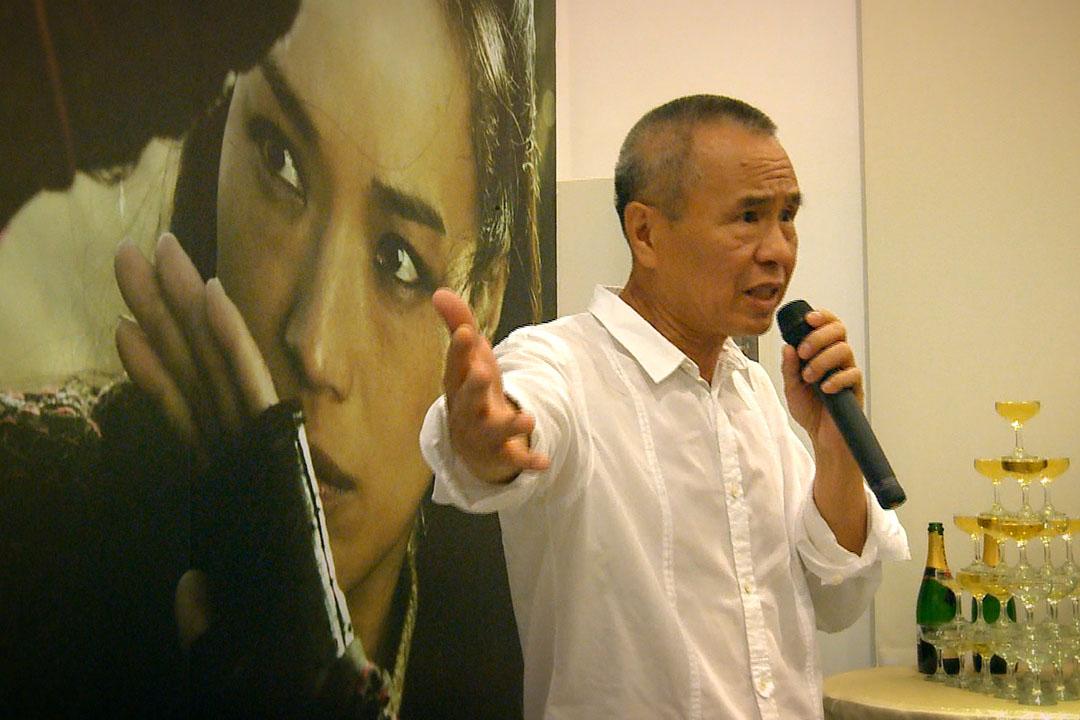 候孝賢導演。蕭菊貞《我們這樣拍電影》劇照。 FaceTaiwan團隊提供