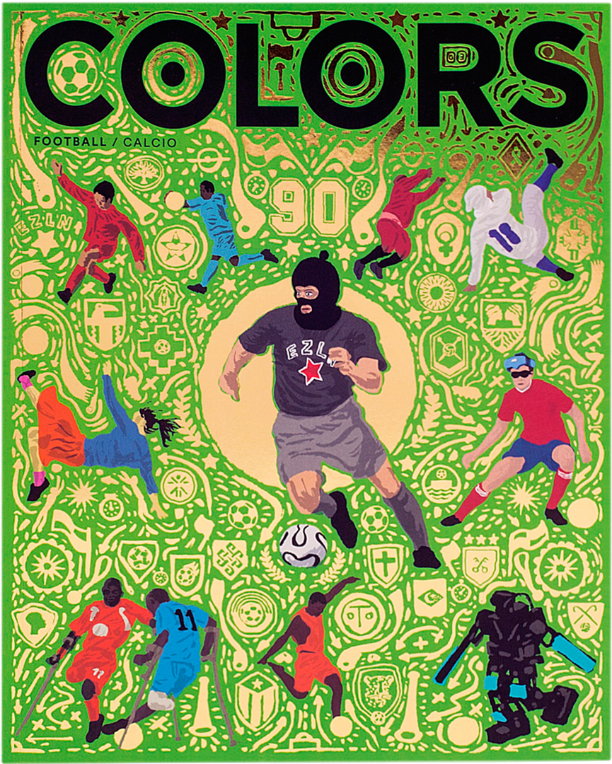 Colors 雜誌第90期封面。來源:Colors 官方網站