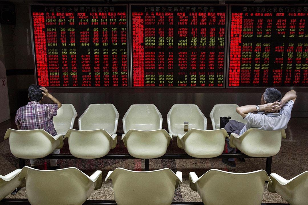 據新華社報導,《財經》記者王曉璐等人被採取刑事強制措施。攝 : Kevin Frayer/GETTY