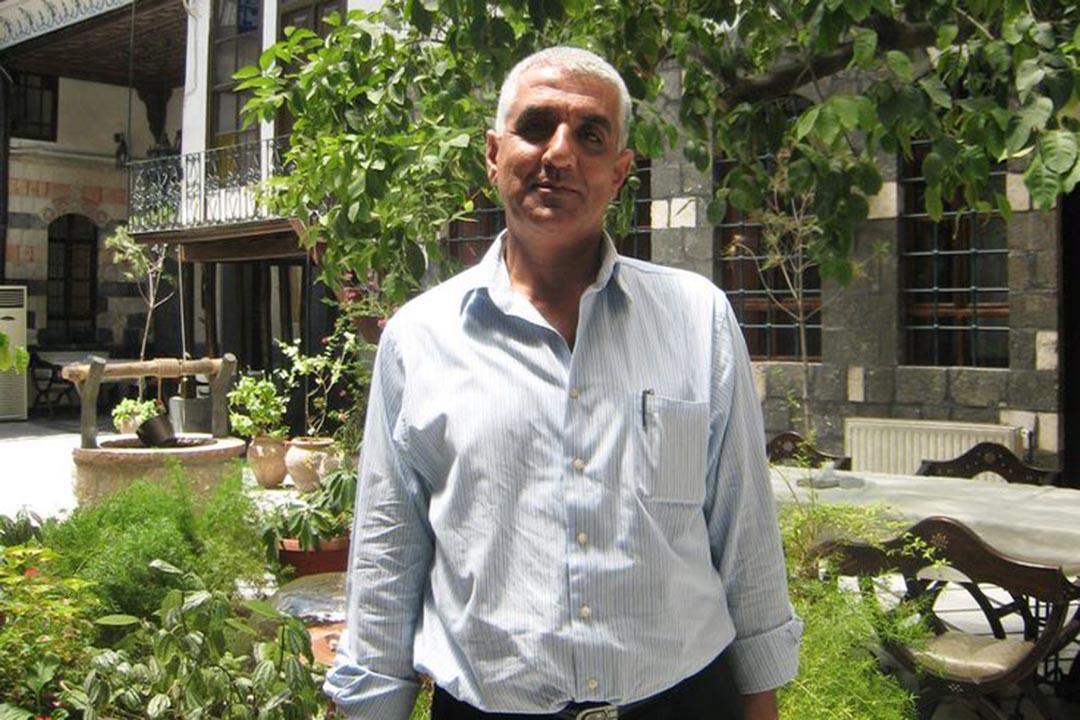 敘利亞人權律師Khalil Ma'touq。攝 : Amnesty International