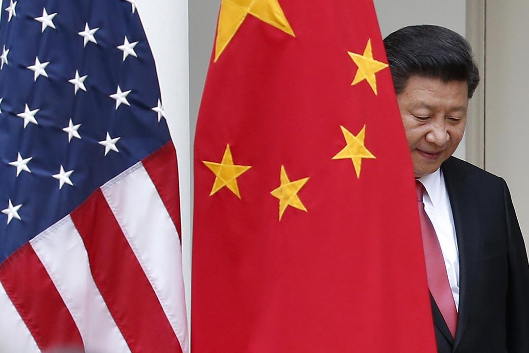 中國國家主席習近平到美國進行國事訪問。攝:Evan Vucci/AP