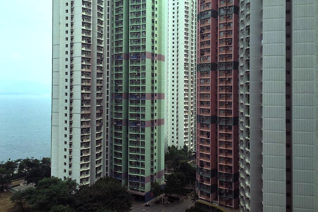 團結香港基金建議香港政府推出「補貼置業計劃」。圖為香港居屋錦豐苑。攝:Billy H.C. Kwok/端傳媒