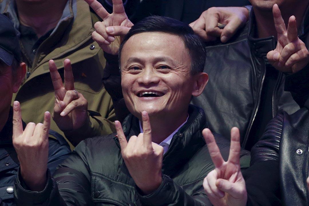 阿里巴巴集團的「天貓雙11全球狂歡節」今年全天交易額為912.7億元人民幣。圖為阿里巴巴創辦人馬雲。攝:Kim Kyung-Hoon/REUTERS