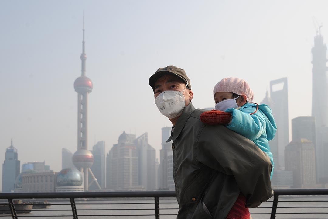 復旦大學最新研究顯示,PM2.5 可影響人體的基因功能,進而危害身體健康。攝:ChinaFotoPress/ Getty