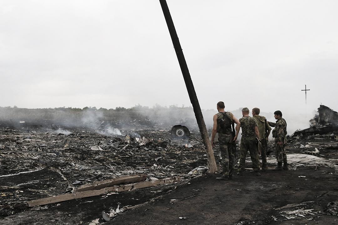 馬來西亞航空MH17客機去年7月17日由荷蘭阿姆斯特丹飛往馬來西亞吉隆坡途中,在烏克蘭靠近俄羅斯邊界墜毁,懷疑被導彈擊落。攝 : Maxim Zmeyev /REUTERS