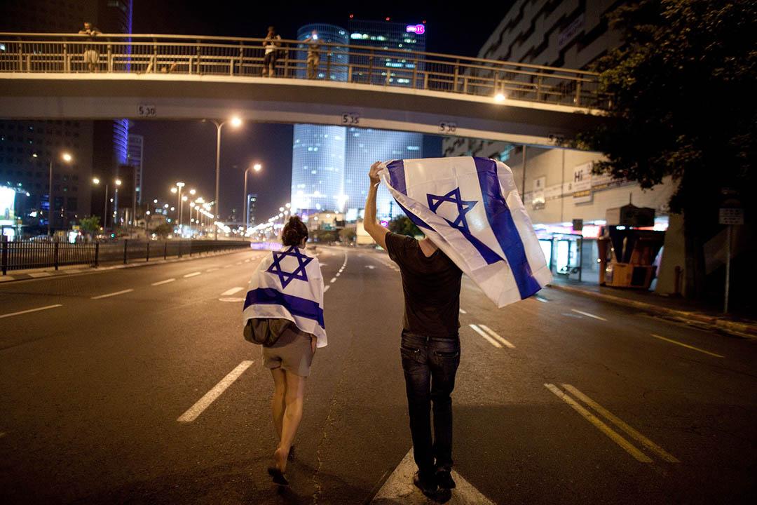 歐盟委員會11月11日公布新政策,要求以色列清楚標註其在巴勒斯坦佔領區生產而在歐洲銷售的商品,以色列政府對此表示抗議。攝:Uriel Sinai/Getty