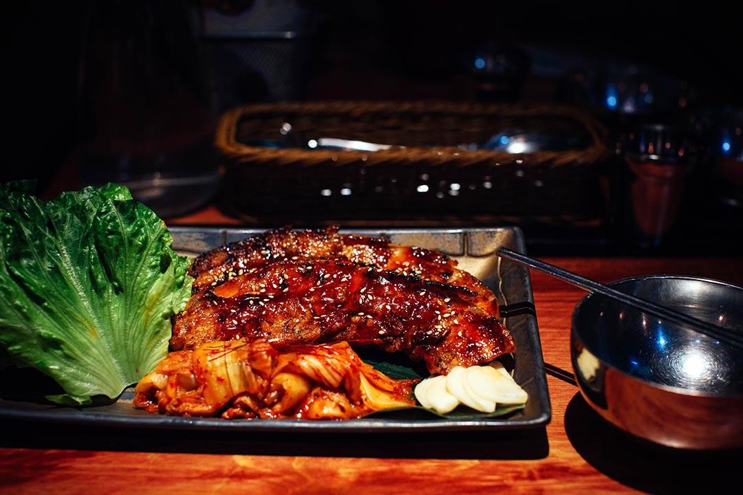 濟州豚王生菜包。攝:葉家豪/端傳媒