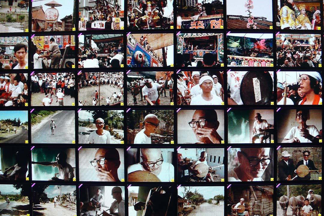 《王船祭典》1979.  《紀念陳達》 2000..攝:張照堂