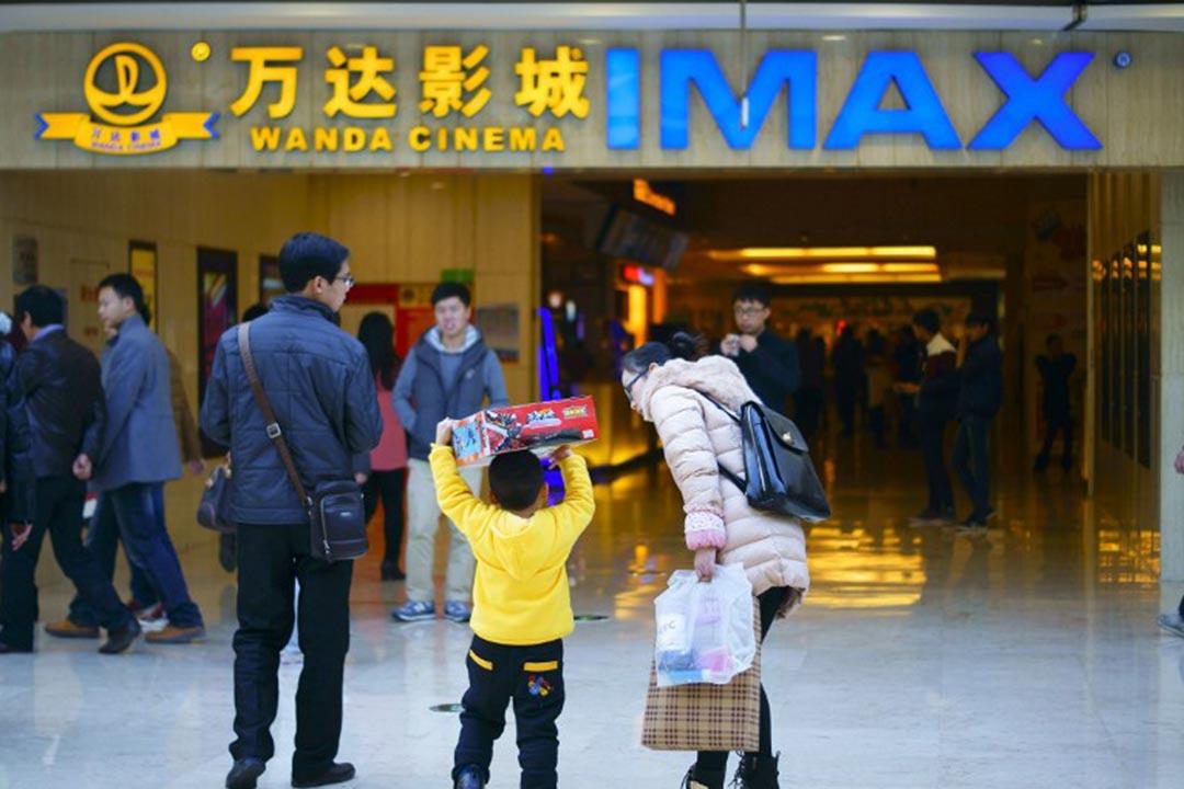 路透社報導,萬達集團將購買美國電影製作公司傳奇娛樂(Legendary Entertainment)。攝:ZHOU JIANPING / IMAGINECHINA