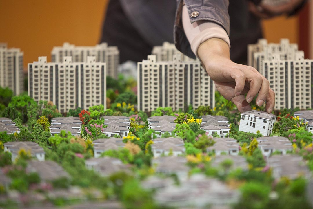 中國首套房貸首付比例再降低至兩成。攝 : Aly Song/REUTERS