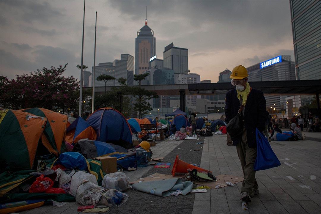 程翔:一場「雨傘運動」,提早引爆了香港的「2047問題」。攝: Chris McGrath/GETTY