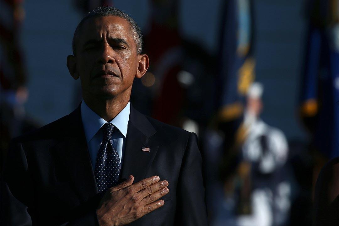美國總統奧巴馬9月11日稱,來自自中國的網絡攻擊是「不能接受的」。攝: Mark Wilson/Getty