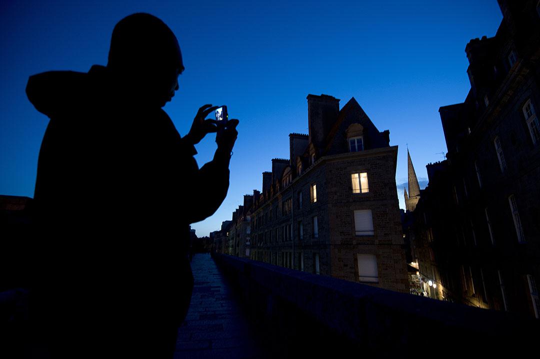 法国城市Brittany。攝:JEAN-SEBASTIEN EVRARD/AFP