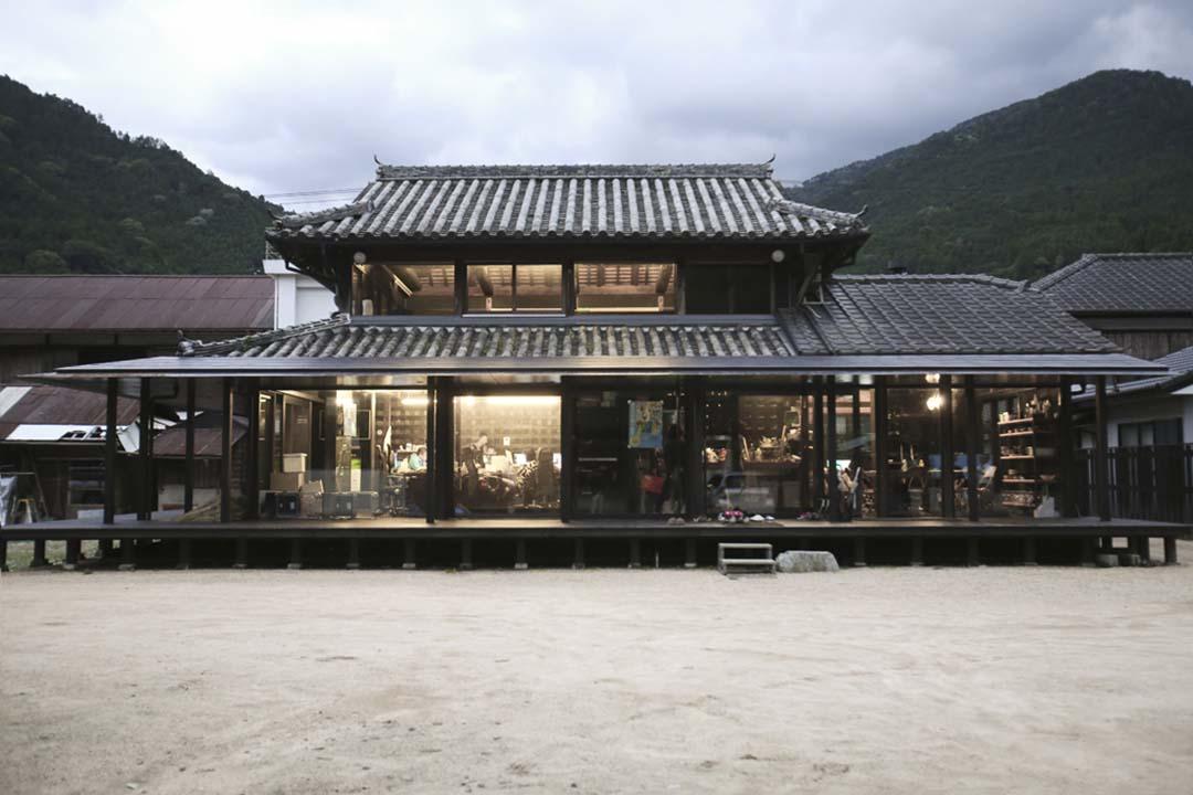 Plat Ease的分部,由神山町一幢90年的古民家改建而成。 圖片由作者提供
