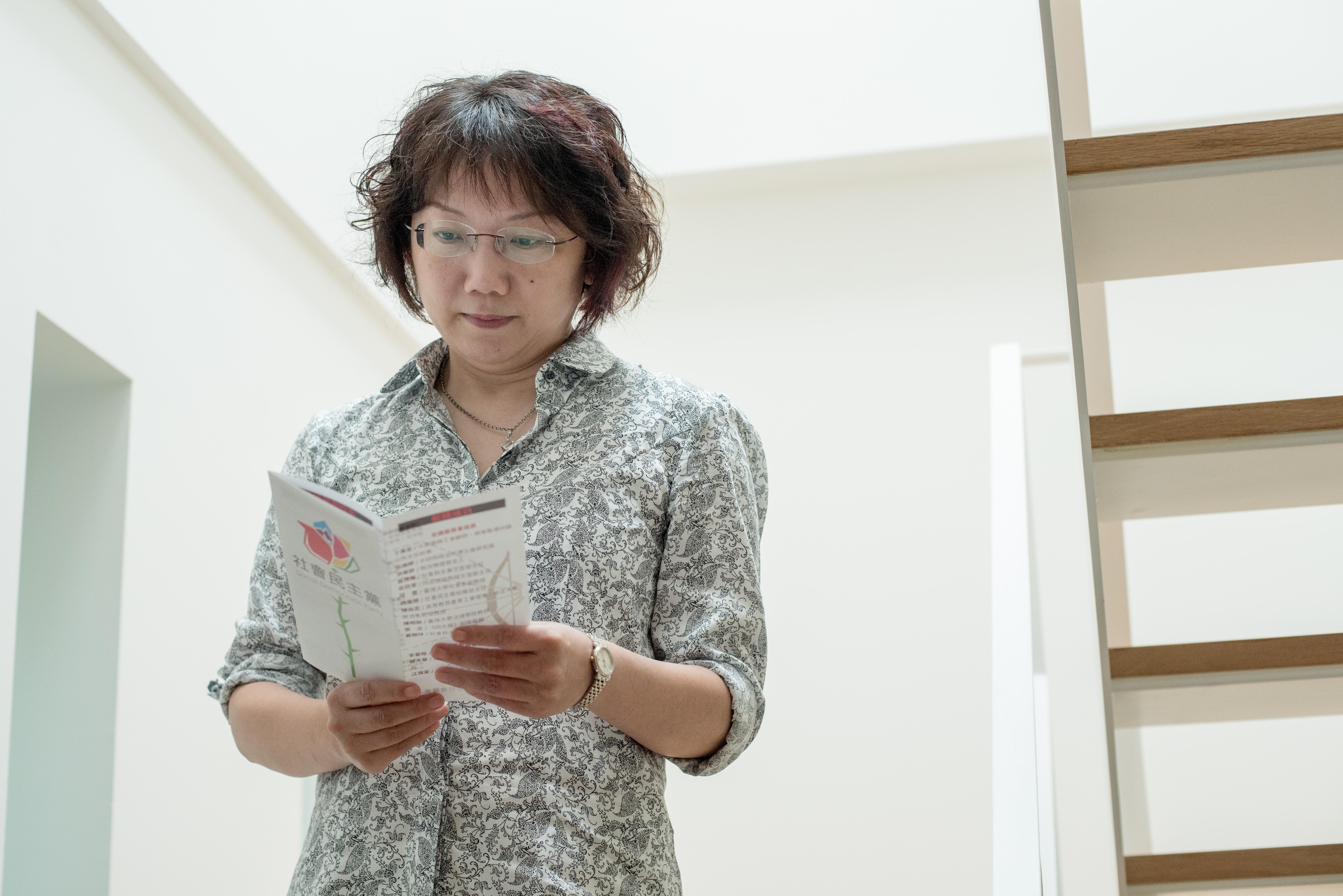 台灣大學社會系副教授范雲。攝: Aaron Peng/ 端傳媒