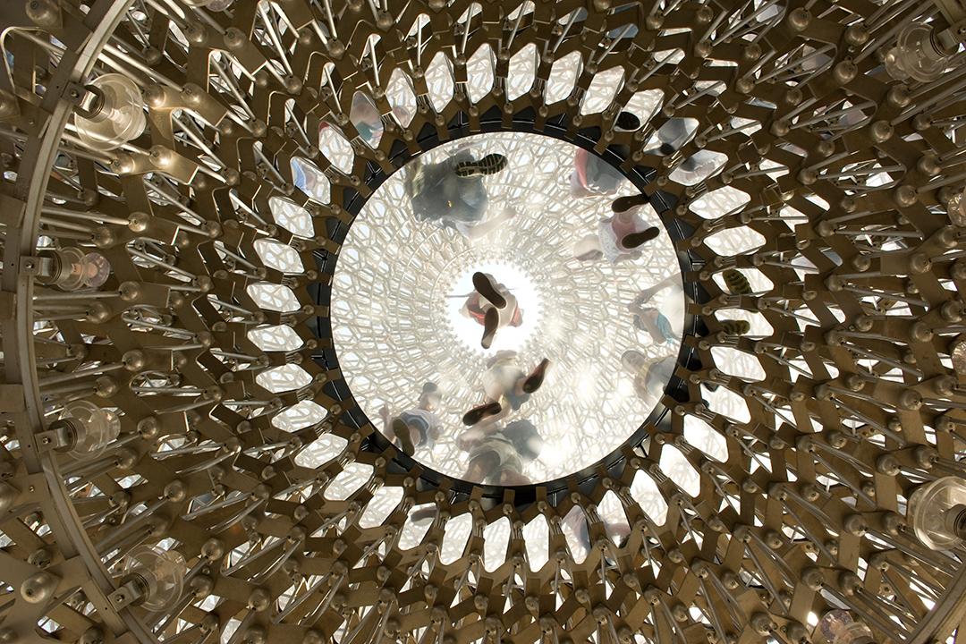 2015年米蘭世博英國館。 攝:Andrea Wyner/端傳媒