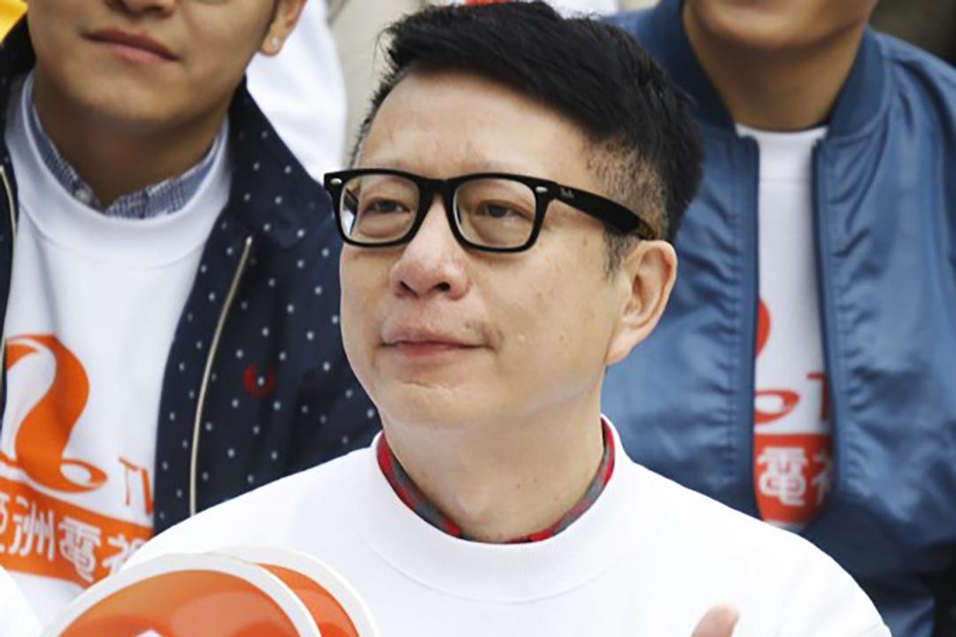 亞洲電視執行董事葉家寶12月7日宣布辭職。攝 : Sunny Mok/EyePress