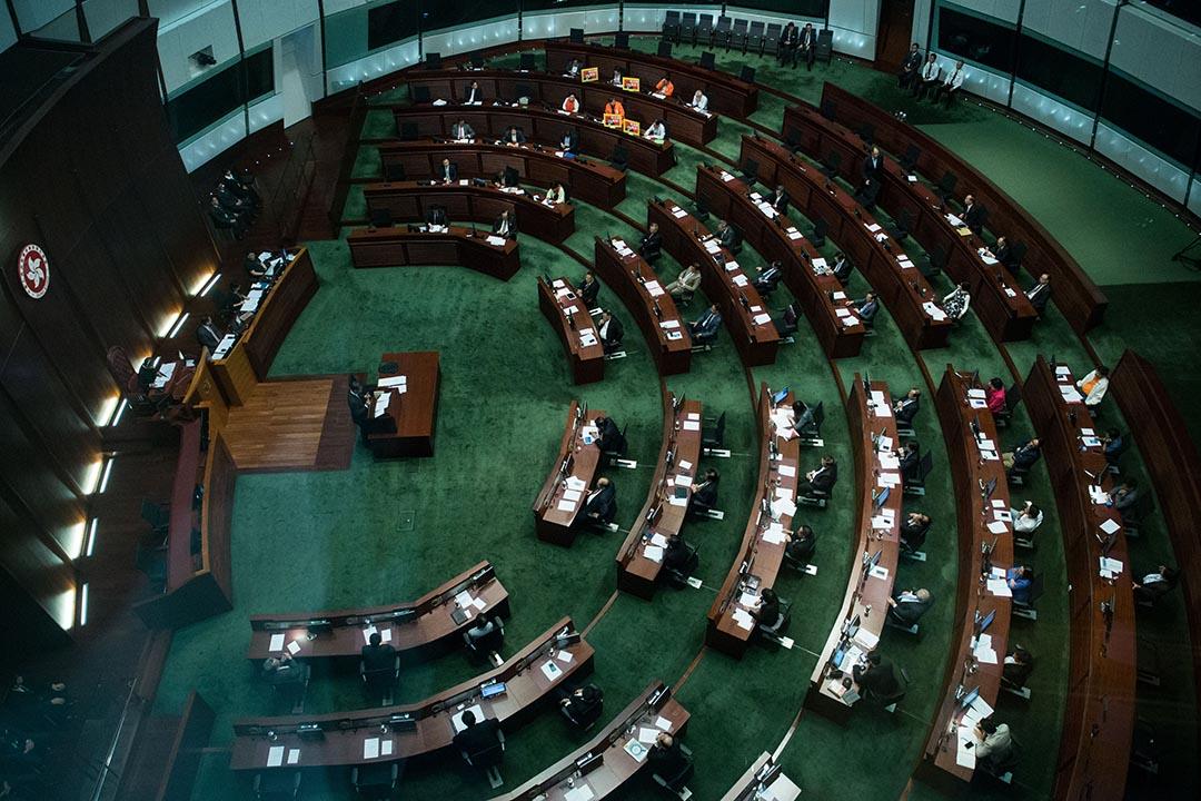 立法會會議廳。攝:盧翊銘/端傳媒