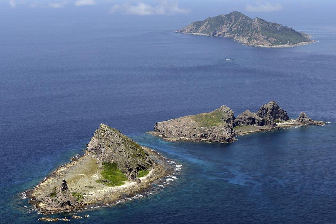 釣魚台列嶼。攝:Kyodo/REUTERS