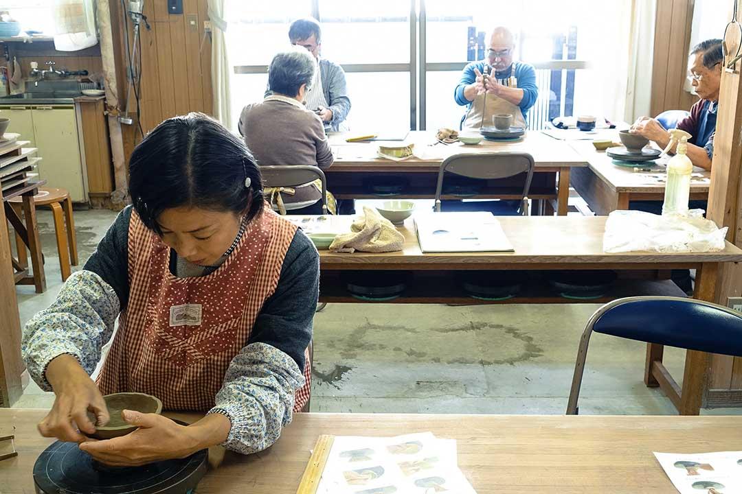離開職場後,福井太太參與各種興趣班以擴闊生活圈子。林琪香攝