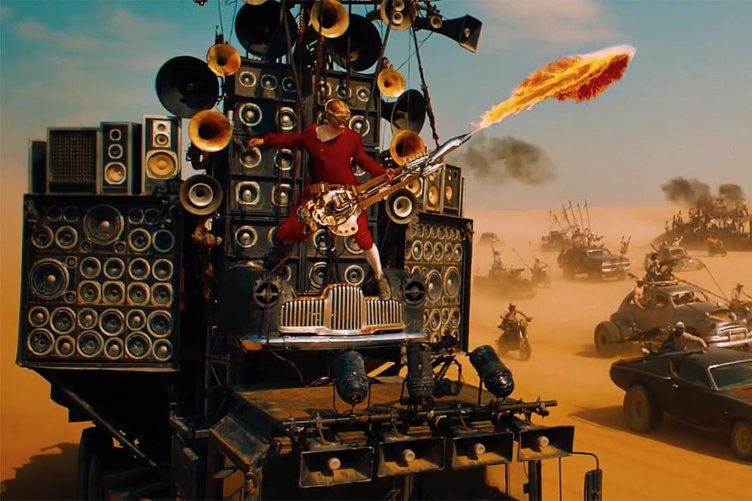 《末日先鋒:戰甲飛車》奪得六項技術大獎。