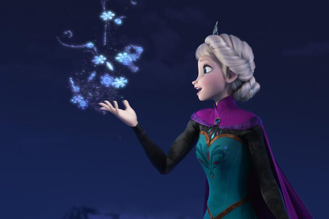 北京申奧音樂作品之一《冰雪舞動》,被指與迪士尼2013年出品的動畫電影《冰雪奇緣》(Frozen)的主題曲《Let It Go》十分相似。圖為迪士尼動畫《冰雪奇緣》圖片。
