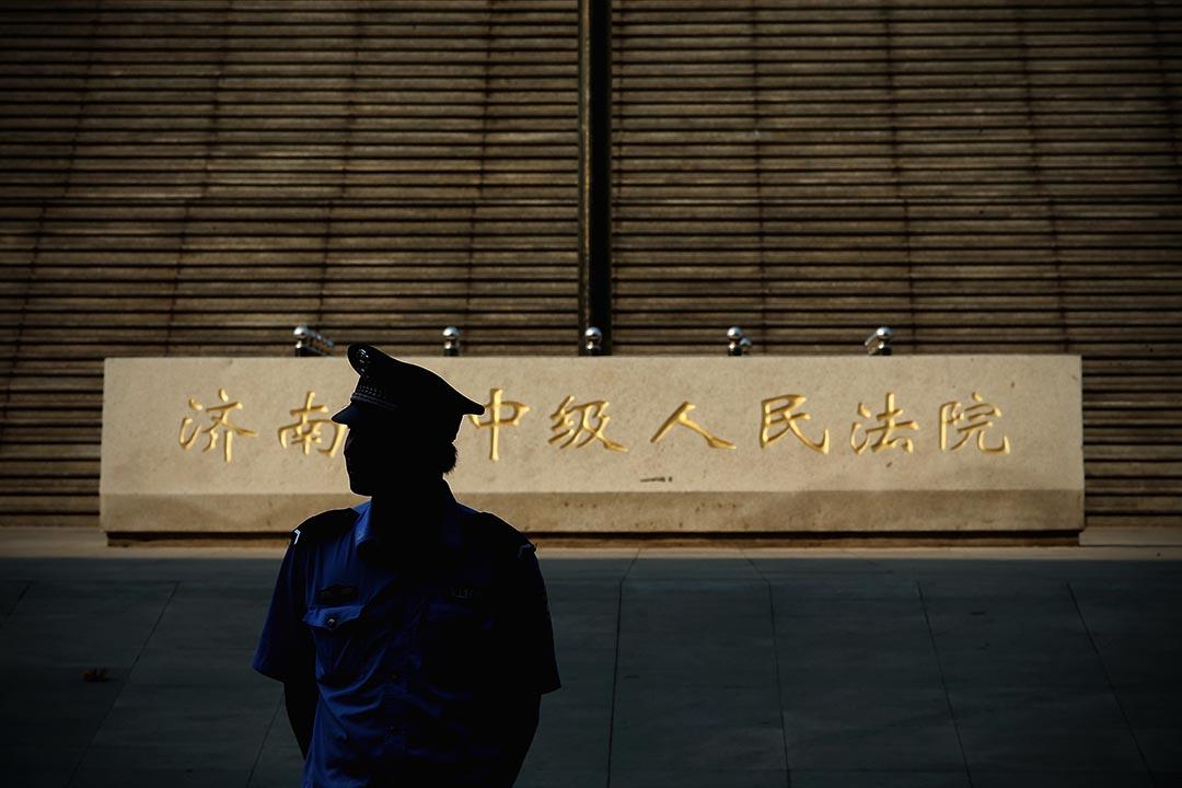 刑法修正案(九)通過後,中國律師或因披露案件信息被判罪。攝 : Feng Li/GETTY