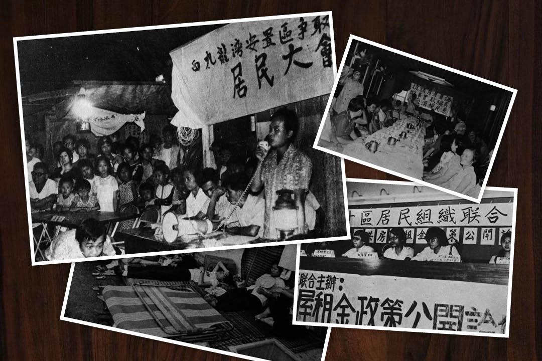 居民行動,曾是社區的日常。 圖:Chris Wong / 端傳媒