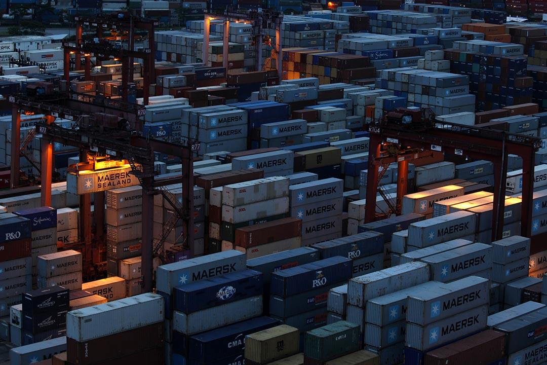 香港貿發局大幅下調全年出口增長預測,由原本3%降至零。攝:Bobby Yip /REUTERS