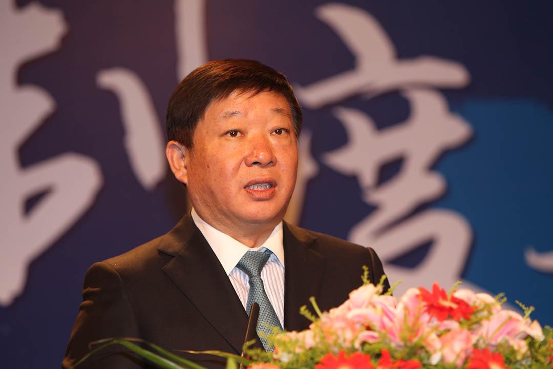 上海市副市長艾寶俊。攝:Imaginechina via AFP