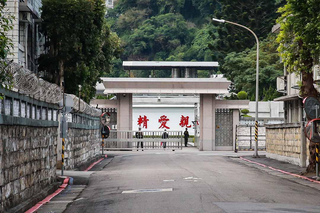 台灣國防部軍事情報局。資料照片
