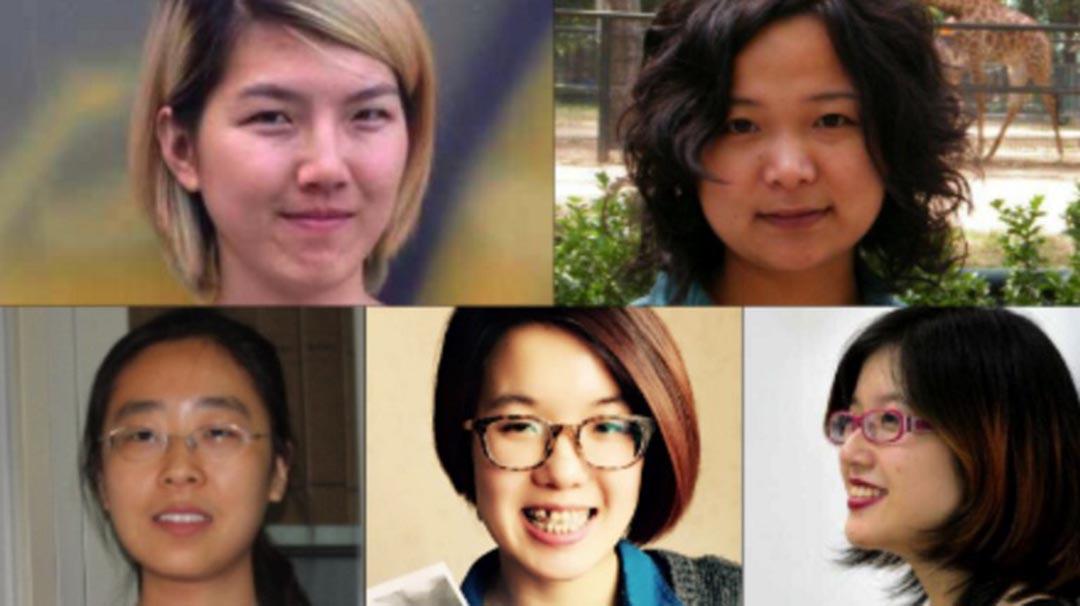 2015年3月8日,一群年輕的女權主義者想做一個「反性騷擾貼貼貼」的活動,在活動發起的前一天,鄭楚然、韋婷婷、李麥子、武嶸嶸、王曼,五位女權主義者在不同的城市被抓捕,被關押37天後放出。