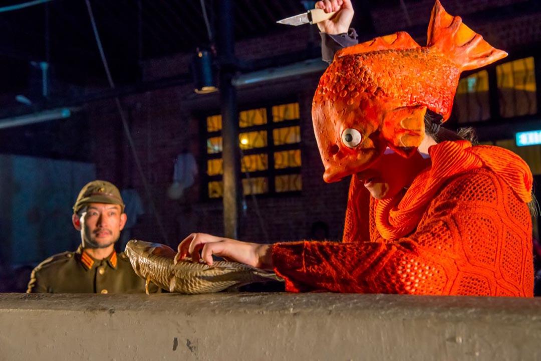 《漁港夢百年》第二部曲「噩夢連場」劇照。天邊外劇場提供