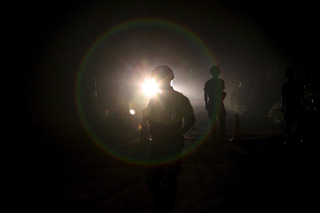 8月20日,韓國士兵在朝韓邊界當值。攝:Park Dong-ju/REUTERS