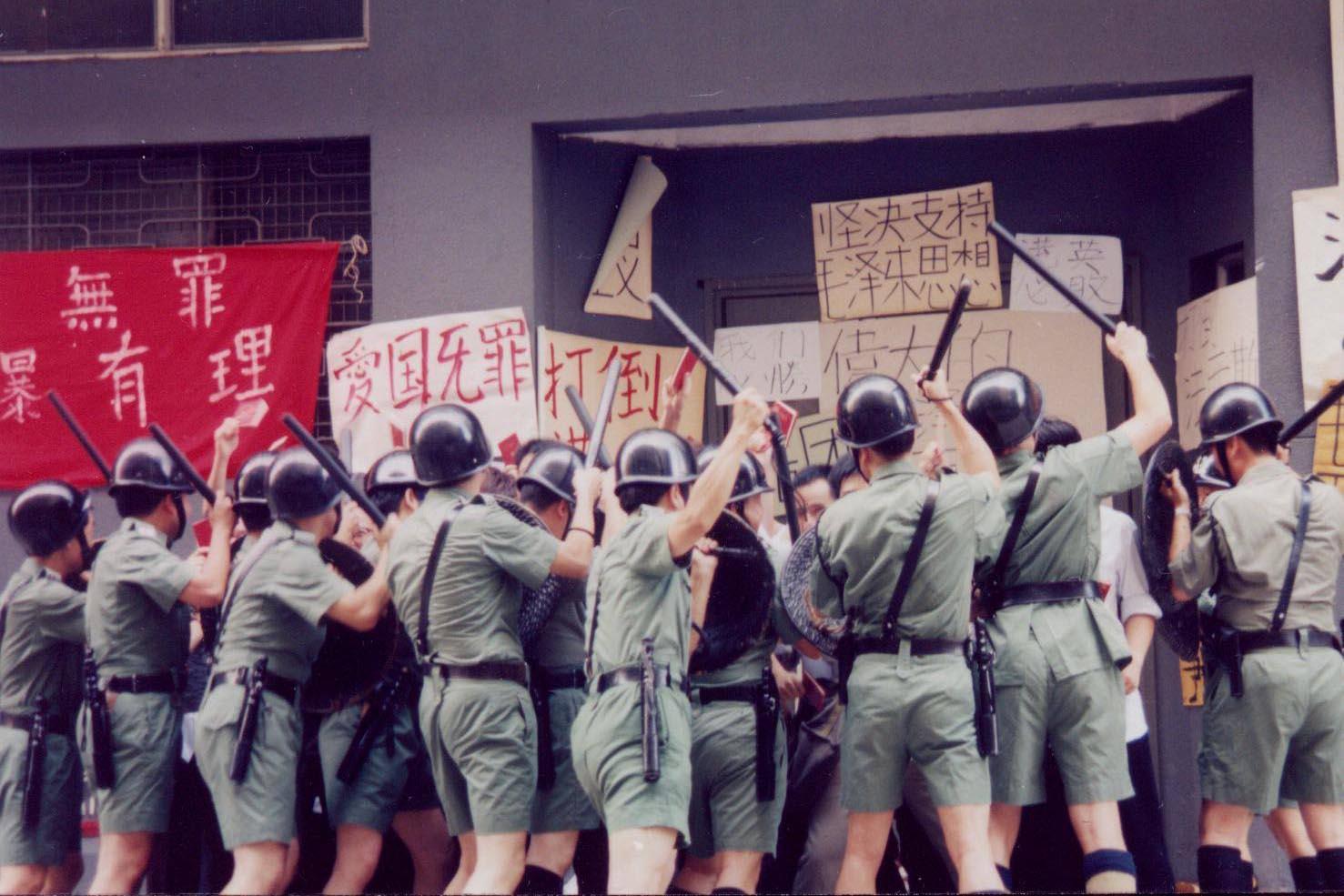 《皇家香港警察的最後一夜》劇照。