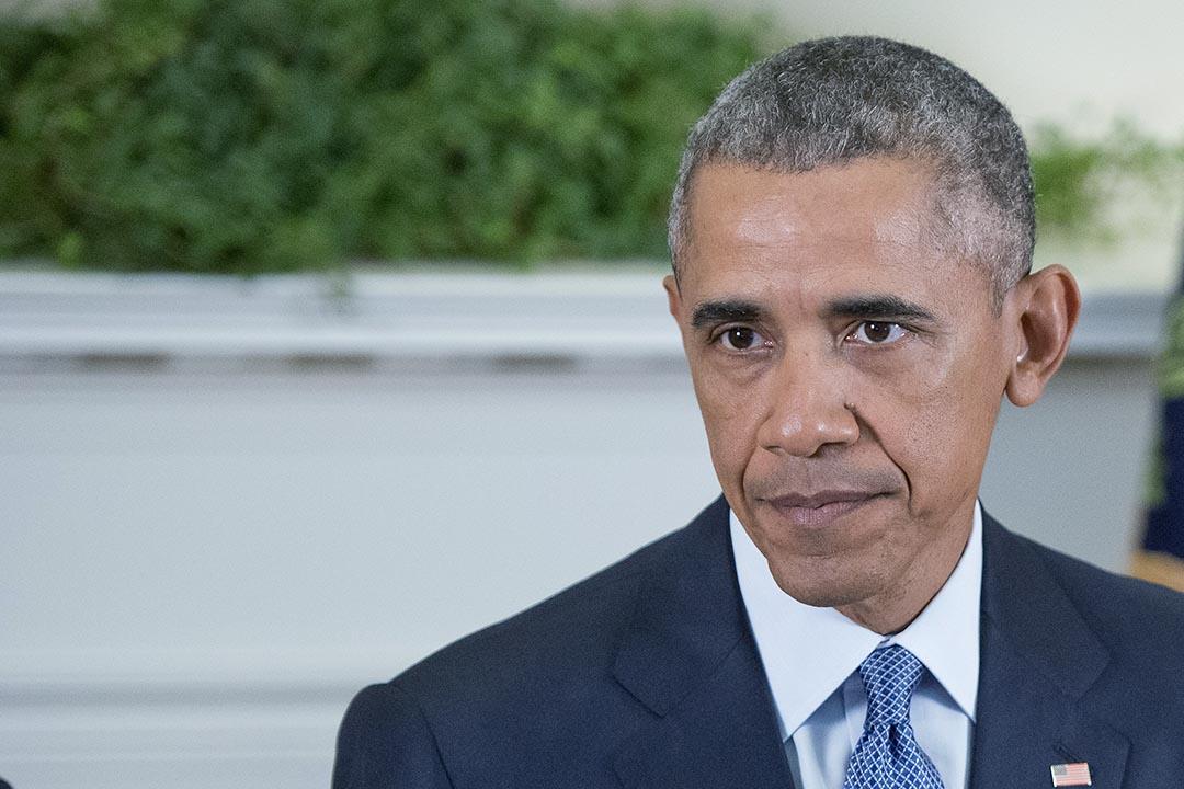 奧巴馬宣布再次推遲阿富汗撤軍。攝: Ron Sachs-Pool via Getty Images