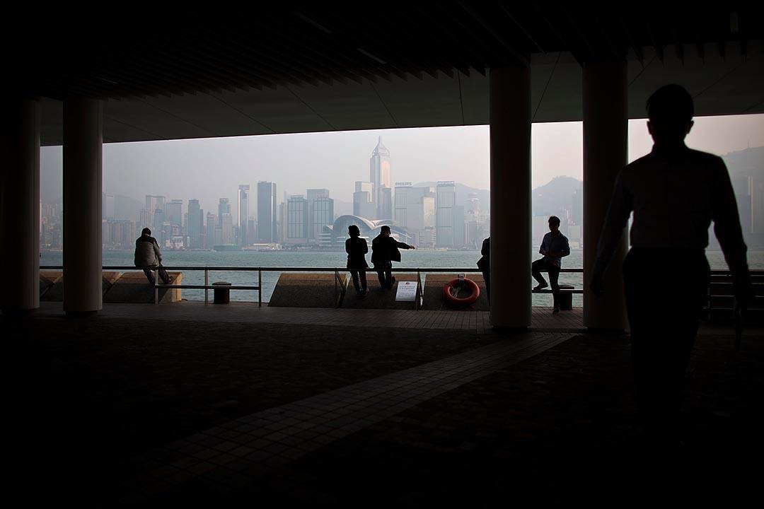 港大民研民調顯示市民對自由法治的評分跌至10年最低。攝: Lam Yik Fei/Getty Images