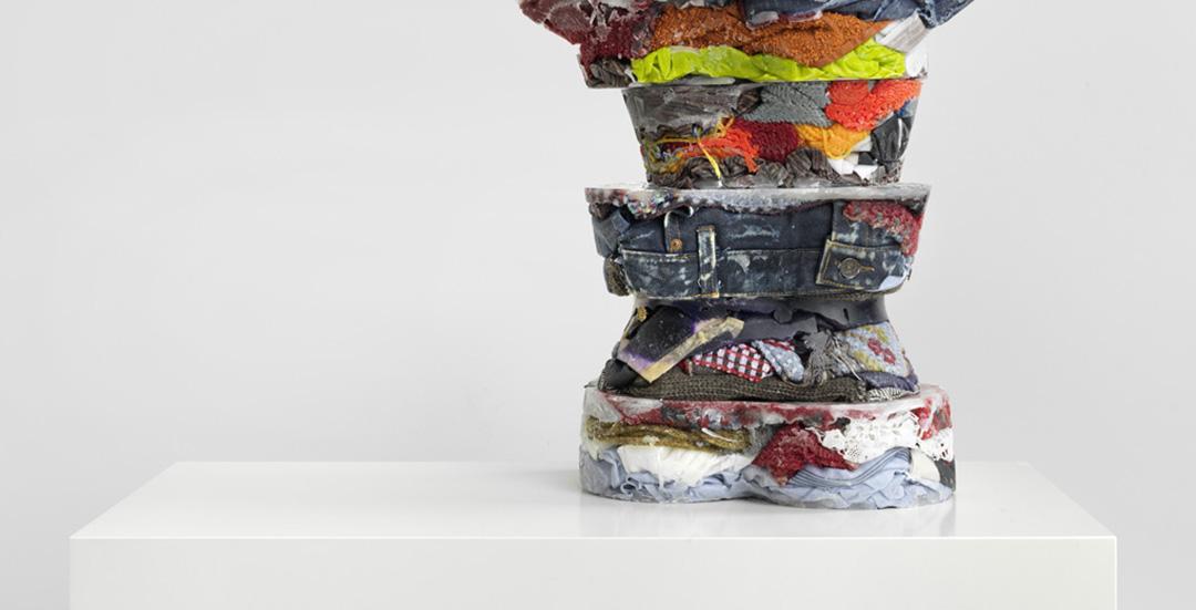 Alexandra Bircken 作品。圖片來自格拉斯哥藝術節