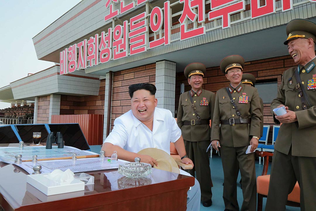 印尼組織日前宣布頒發和平獎予朝鮮領袖金正恩,表揚他對「和平、公義和人道主義」所作的貢獻。攝 : KCNA/REUTERS