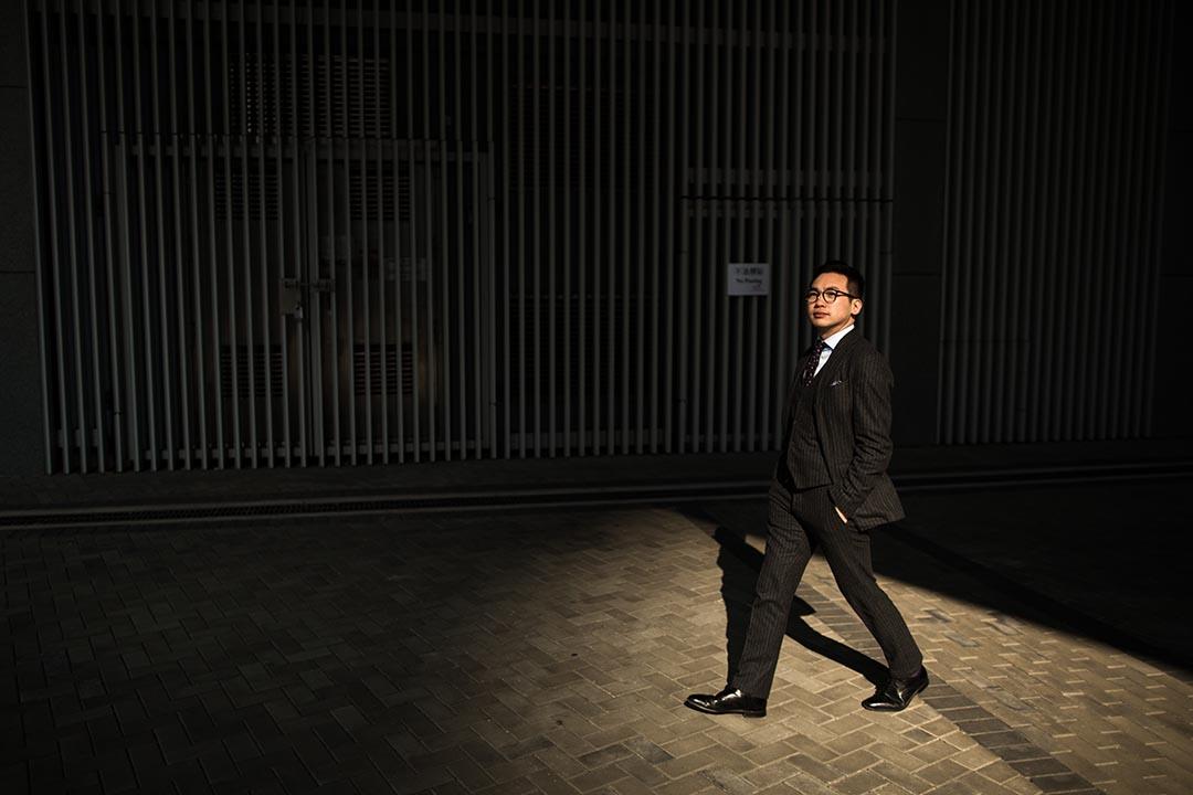 公民黨楊岳橋。攝:盧翊銘/端傳媒
