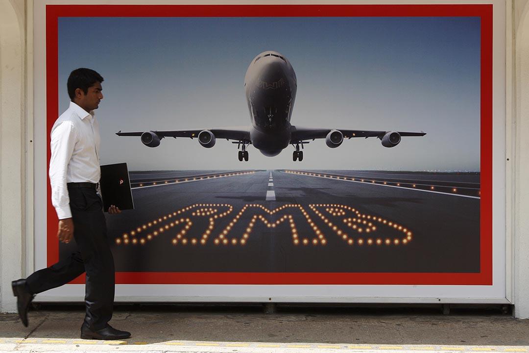 10月8日,人民幣跨境支付系統(CIPS)正式上線。攝 : Tyrone Siu/REUTERS