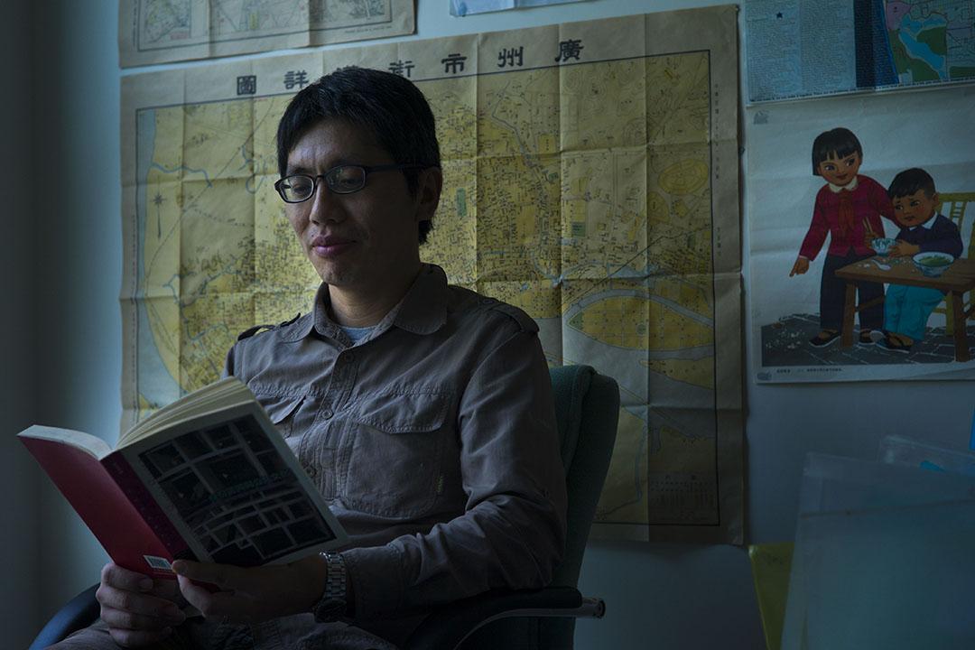 嶺南大學文化研究系助理教授葉蔭聰。攝:葉家豪/端傳媒