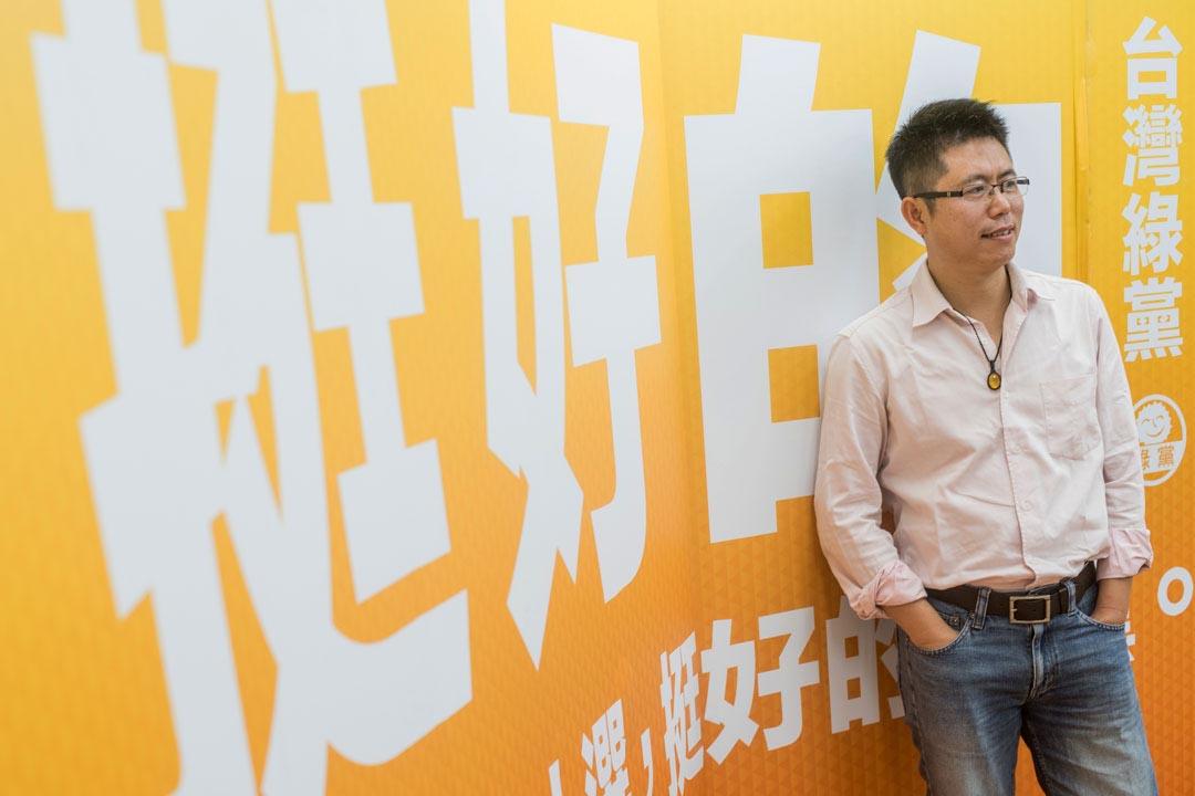 地球公民基金會執行長李根政。攝:AARON PENG/端傳媒