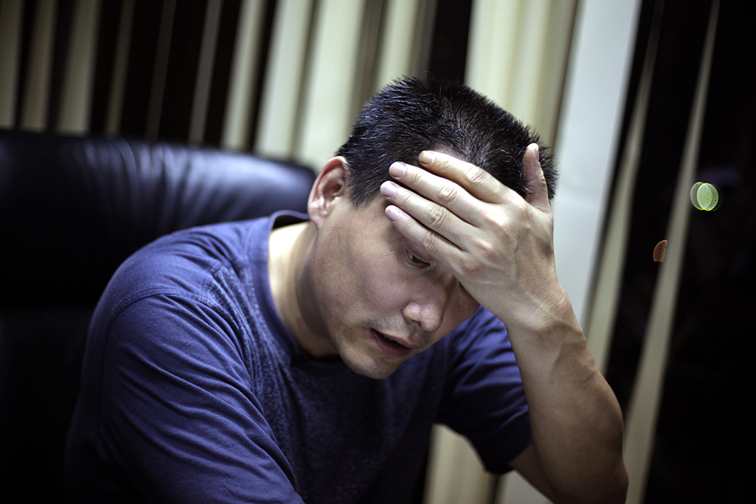 中国维权律师浦志强案将再度开庭。摄 : Ng Han Guan/AP