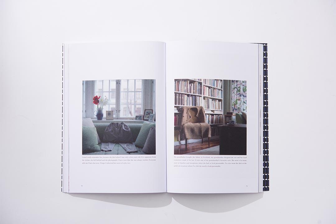 芬蘭攝影師Ida Taavitsainen則以詩般的視覺,細說她衣櫃中舊衣的前生故事。 (攝影:Lit Ma)