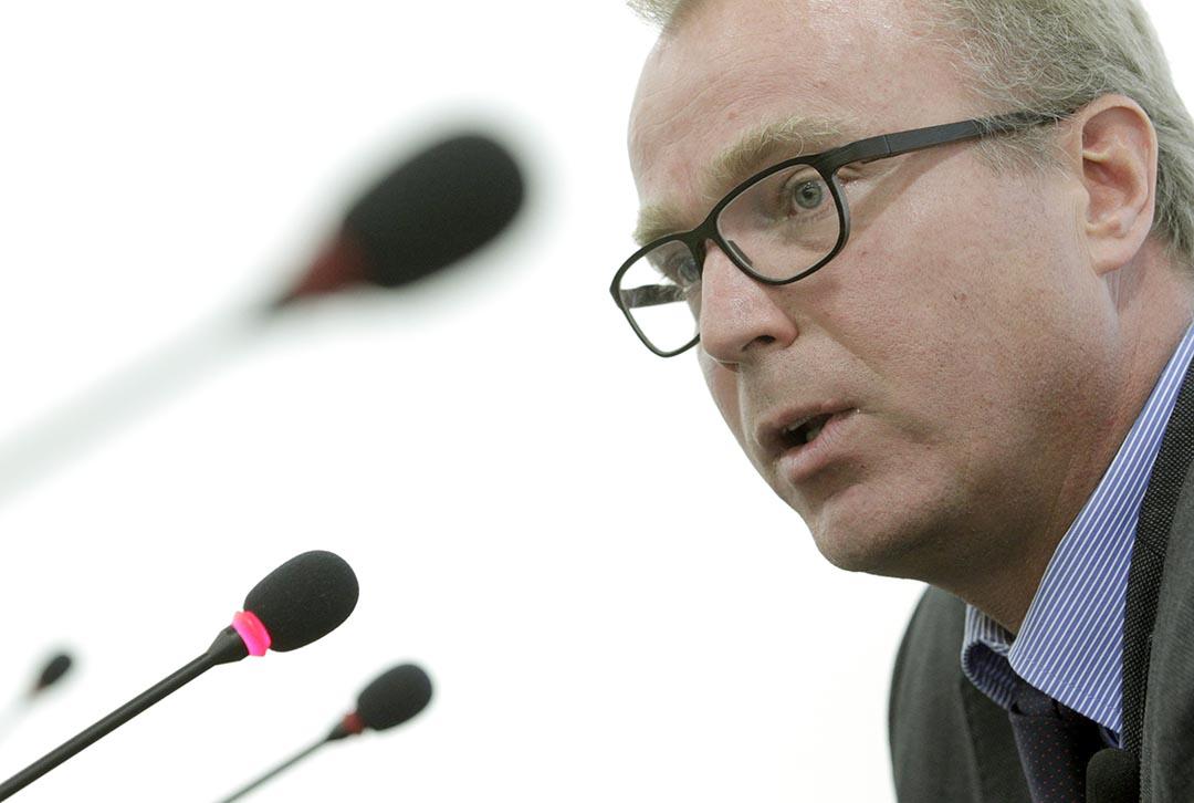 瑞士外交部大使和法律顧問瓦倫丁·齊薇格(Valentin Zellweger)。攝 : Denis Balibouse/REUTERS